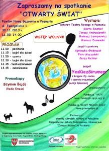 Plakat - Otwarty świat PN 11