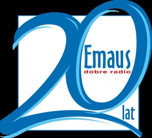 EMAUS 20 lat LOGO_krzywe CMYK